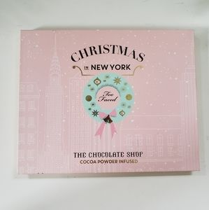 Too faced chocolate shop Christmas palette